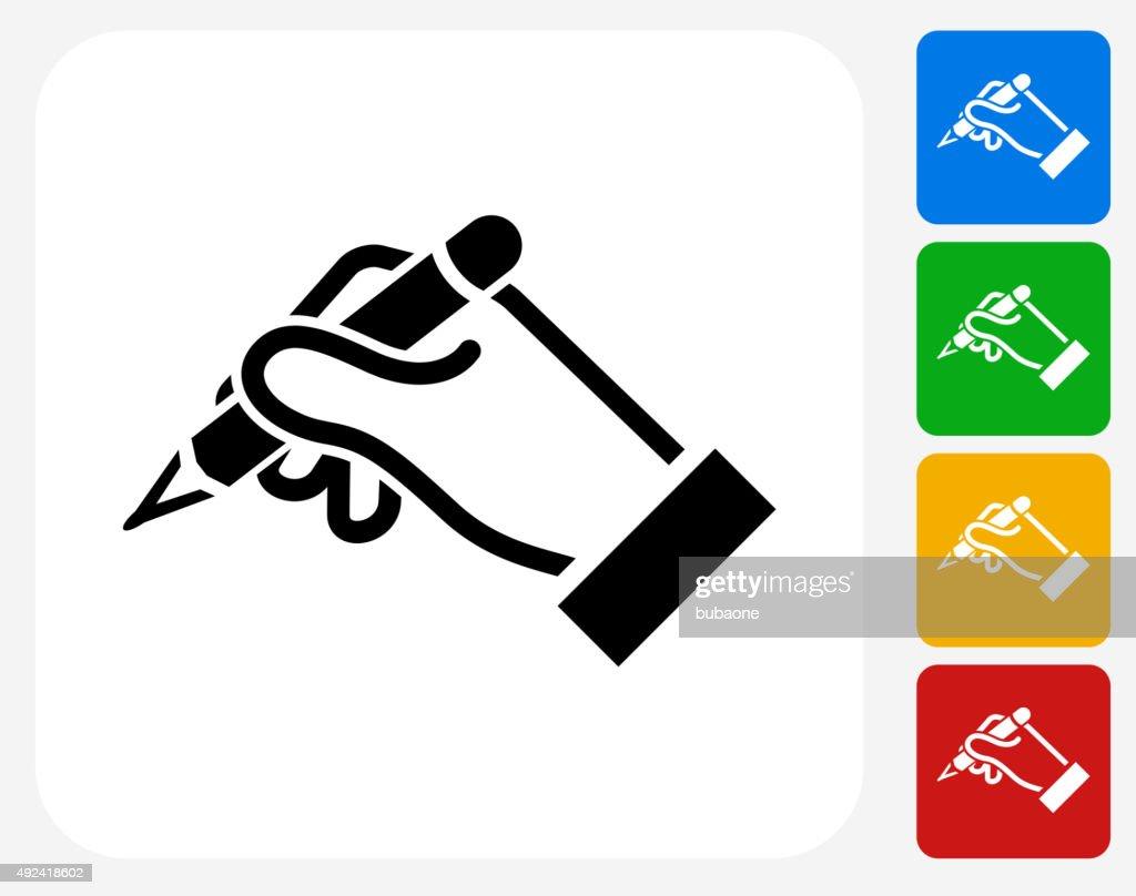 Construction Hands Icon Flat Graphic Design : stock illustration