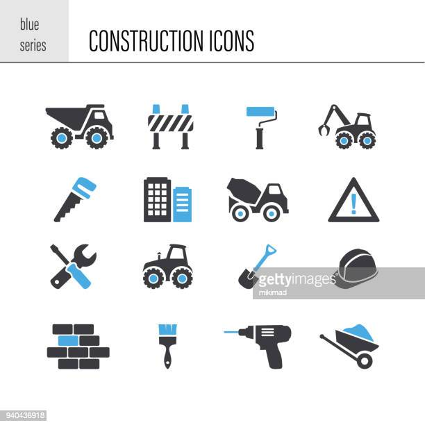 construction icon - foundation stock illustrations, clip art, cartoons, & icons