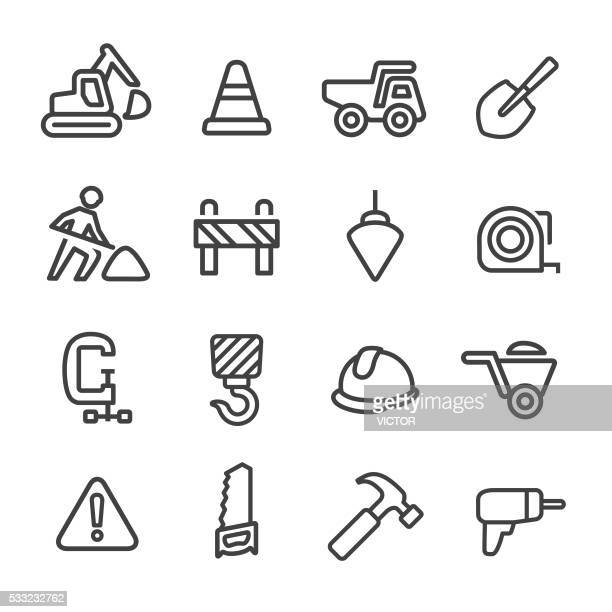 Construction Icons - Line Series