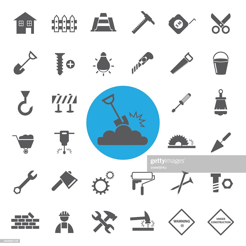Construction Icons set.vector