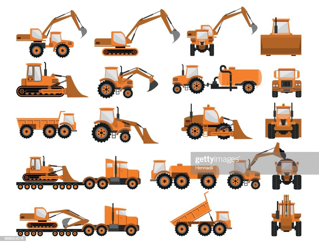 Construction machines and equipment
