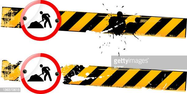 construction sign - closing stock illustrations, clip art, cartoons, & icons