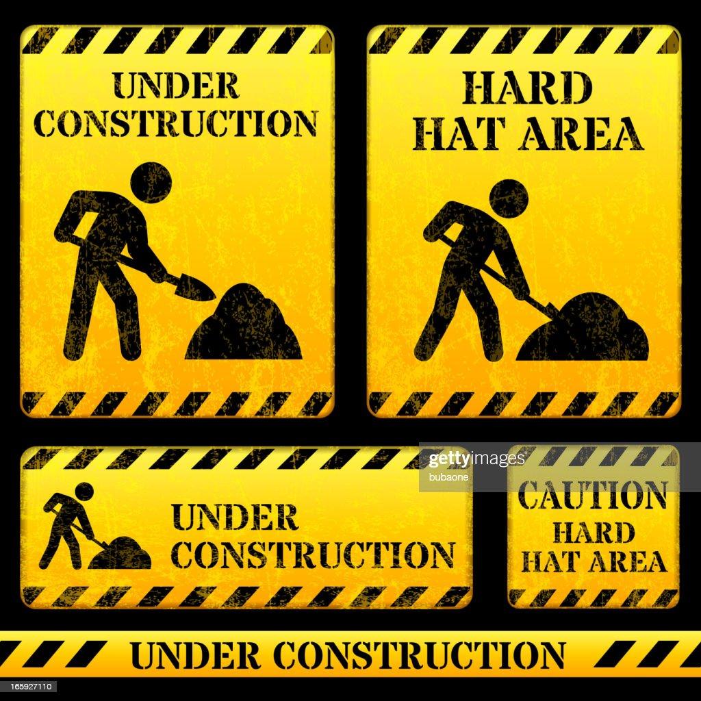 Construction Street Sign