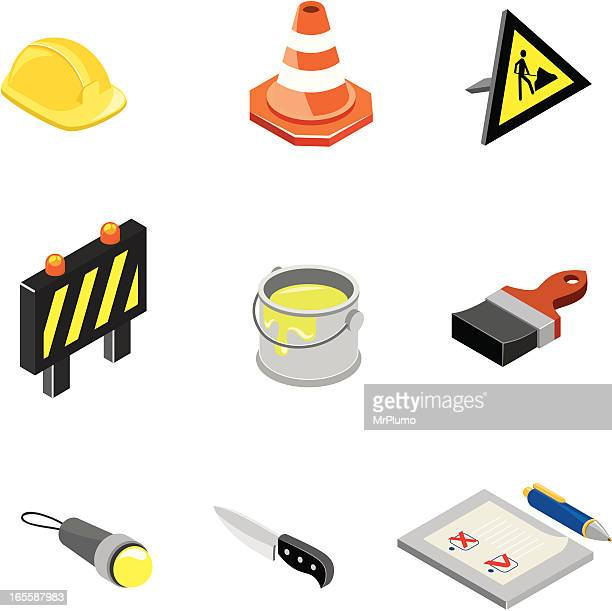 Construction & Worktools icons | ISO collection