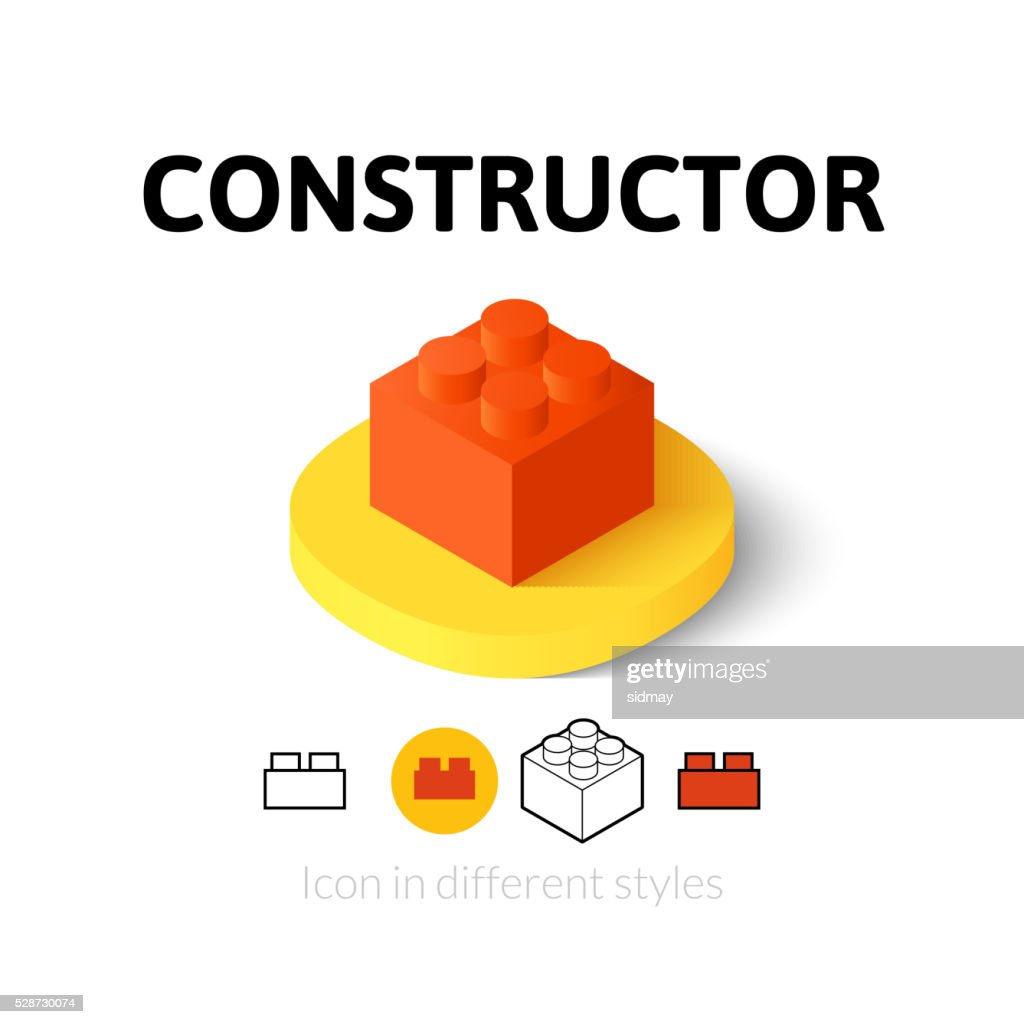 Constructor icon in different style