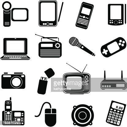 Consumer Electronics Vector Art | Getty Images