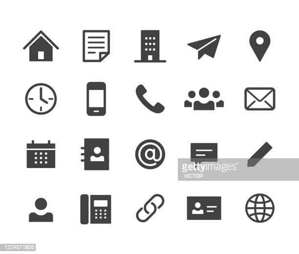 kontakt icons - classic series - tabellenkalkulation stock-grafiken, -clipart, -cartoons und -symbole