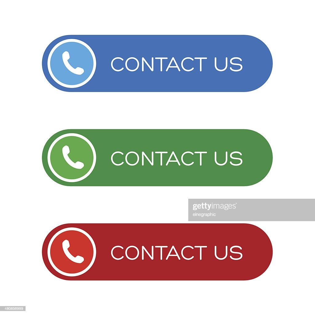 Contact us button set