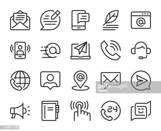 お問い合わせ-line のアイコン - 'at' symbol点のイラスト素材/クリップアート素材/マンガ素材/アイコン素材