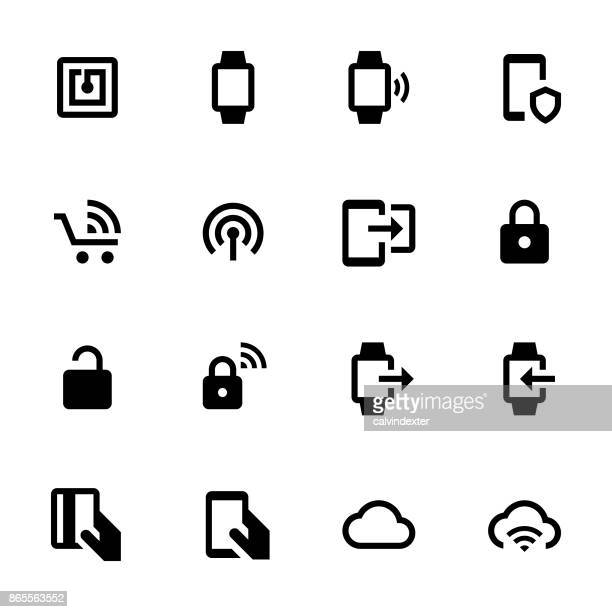 Contactless Payment Icon Set 3