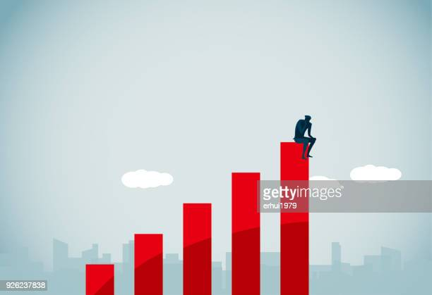contemplation - suicide stock illustrations
