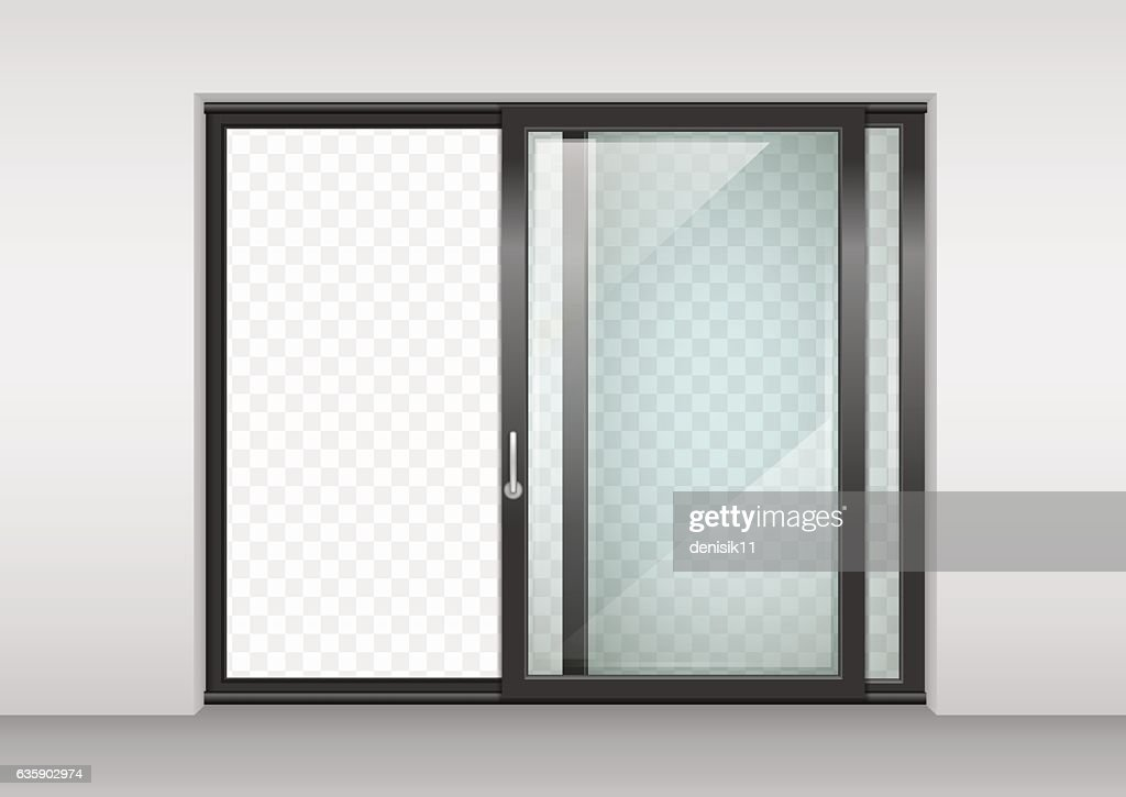 Contemporary sliding door