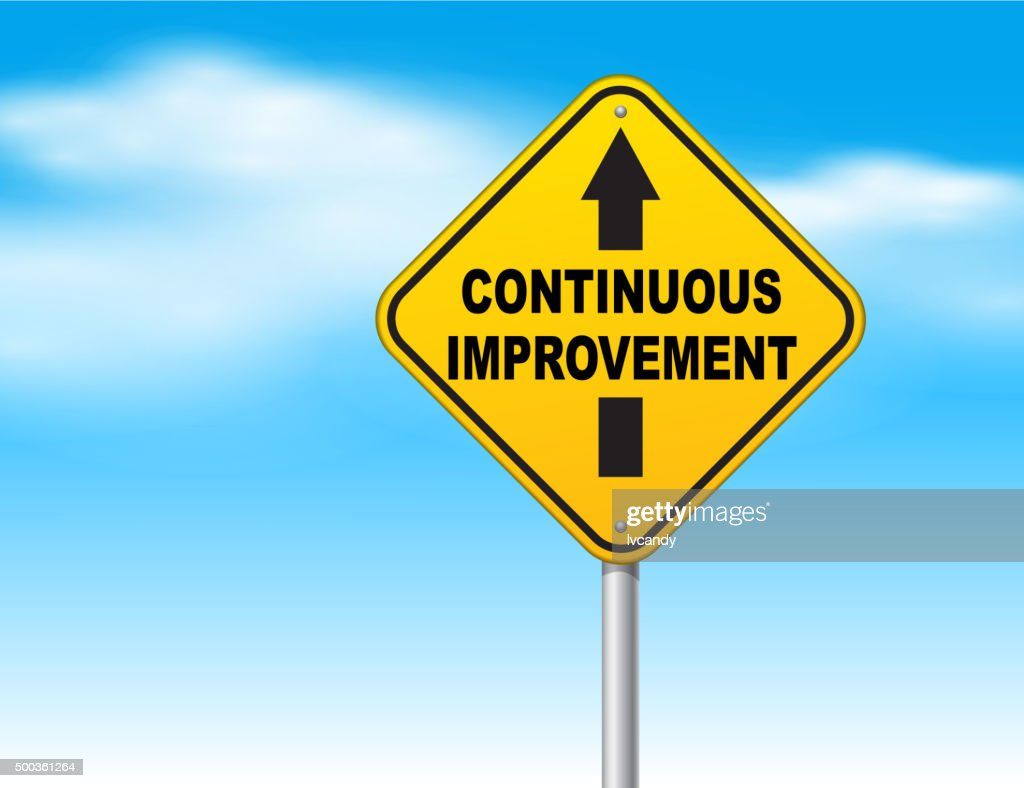 Continuous improvement : Vector Art