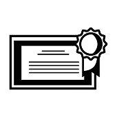 contour graduation diploma certificate with wood frame design