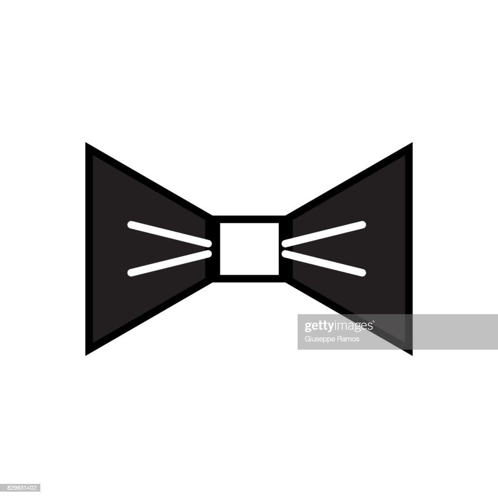 contour nice bowtie style decoration design