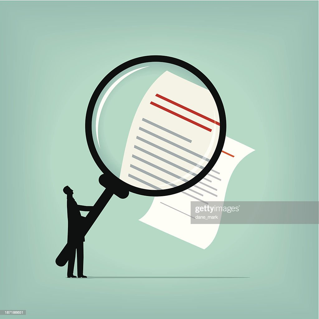 Contract : stock illustration