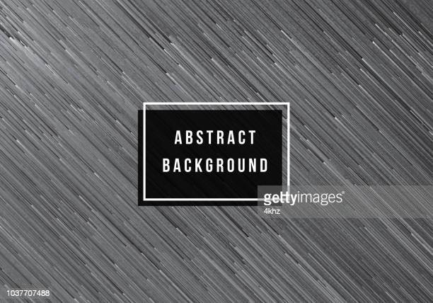Contraste de Texture abstraite de lignes directionnelles gris fond