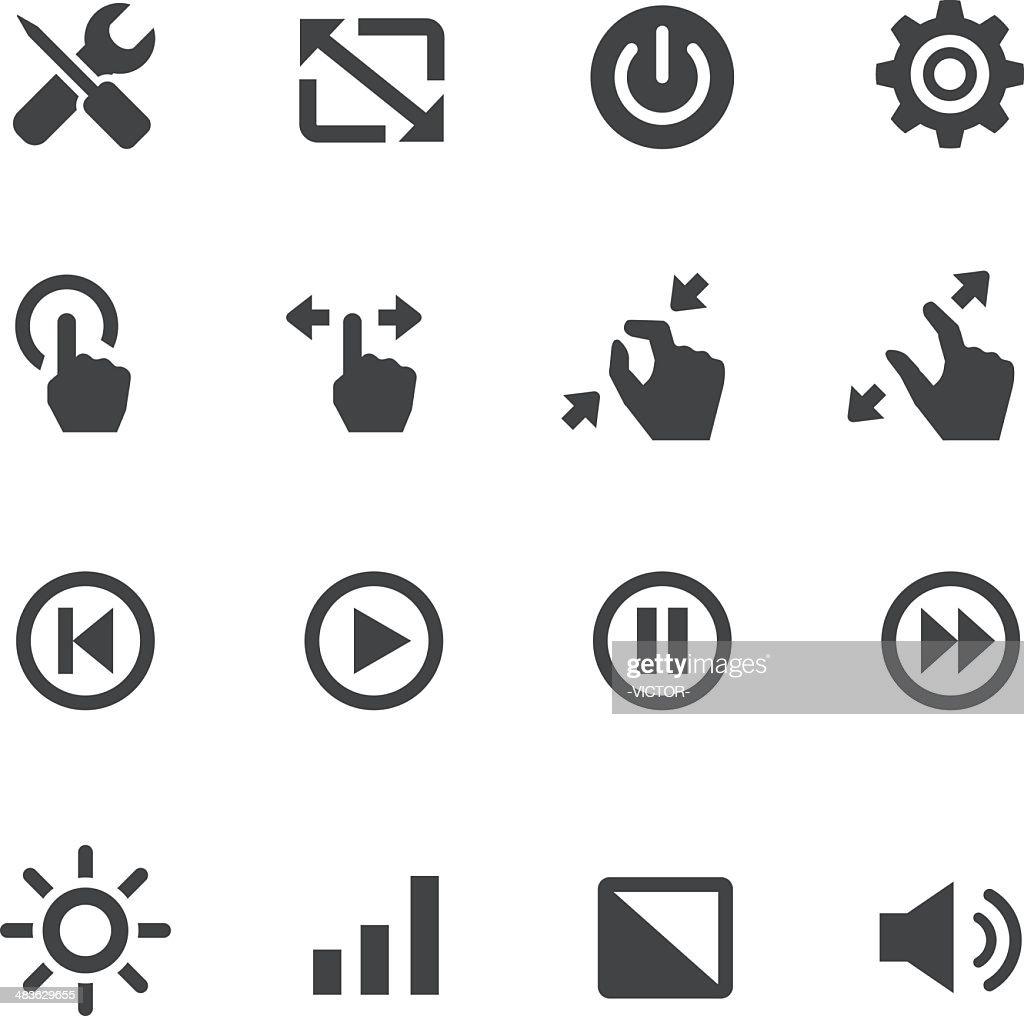Control Icons - Acme Series