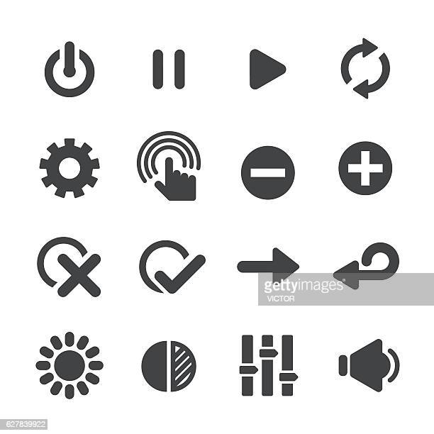 Control Icons - Acme Series