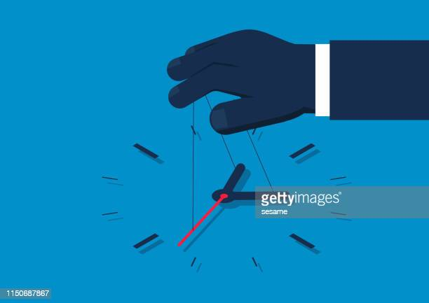 control time - intermission stock illustrations