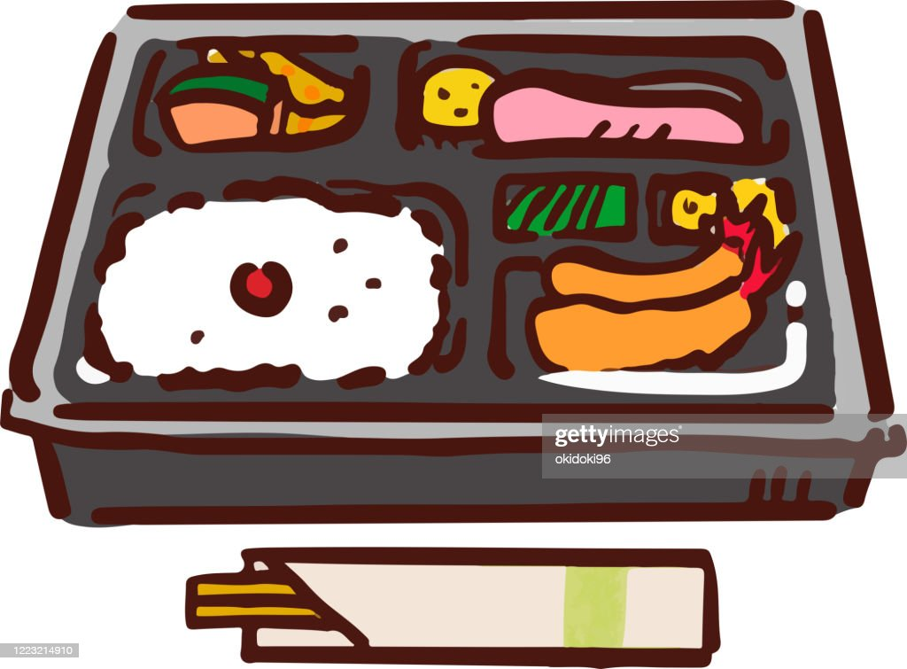 Convenience store lunch : stock illustration