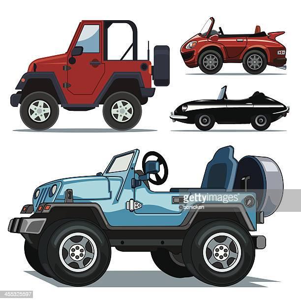 Descapotable coche colección