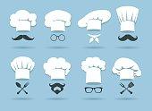 Cook chef hat logo