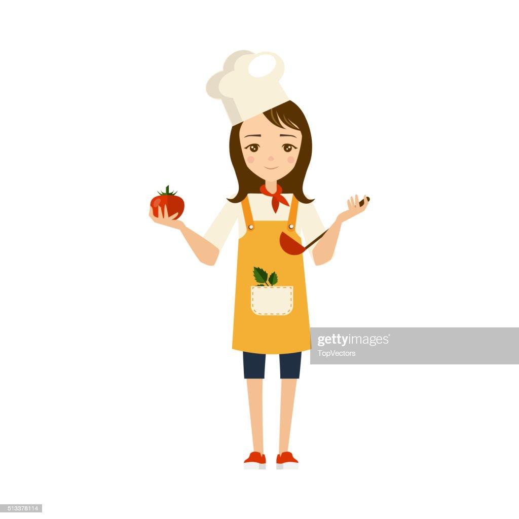 Cook Vector Illustration