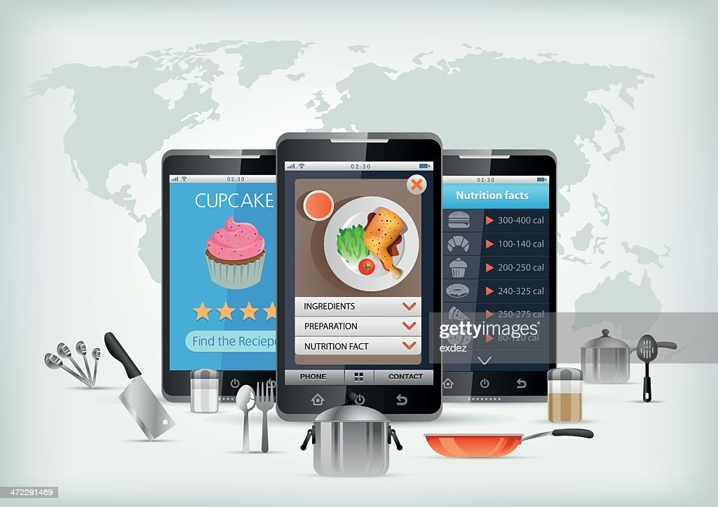 Cooking App for smartphone