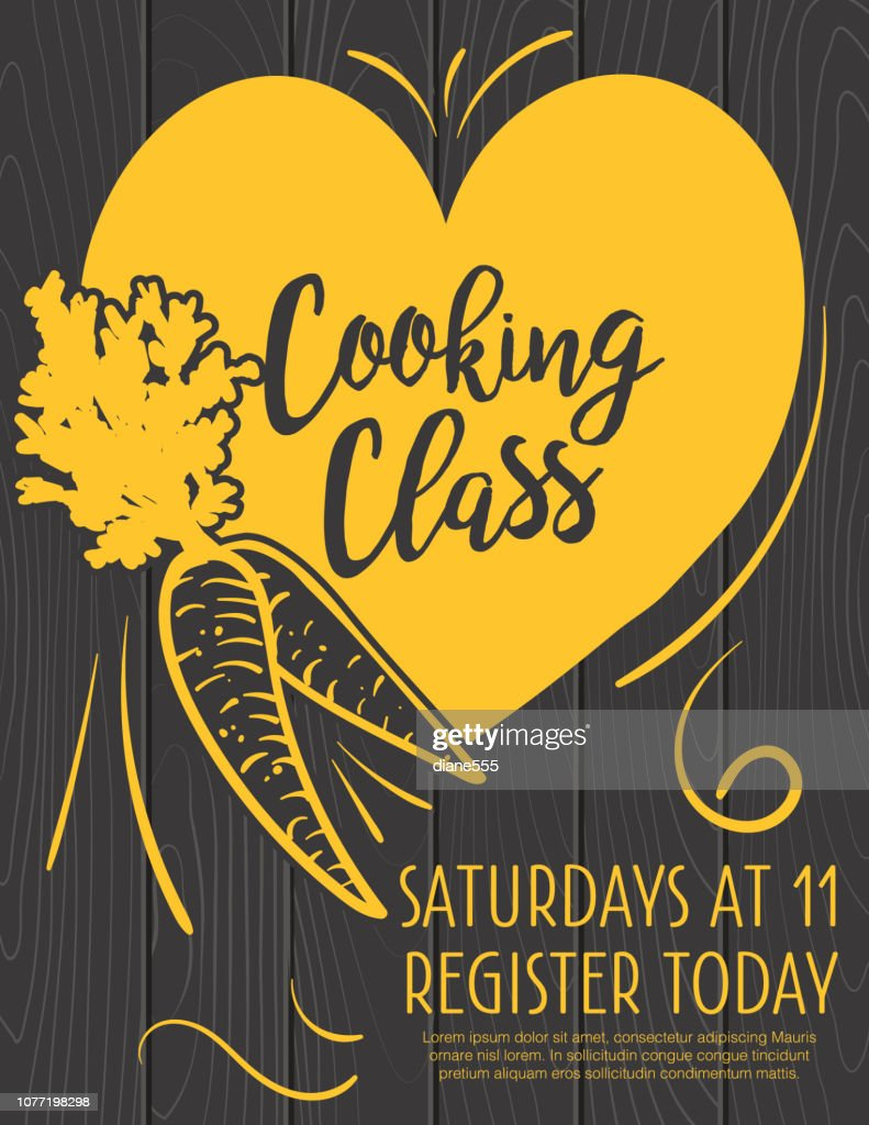 Cooking Class Flyer Template from media.gettyimages.com
