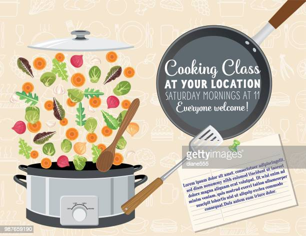 Cooking Class template