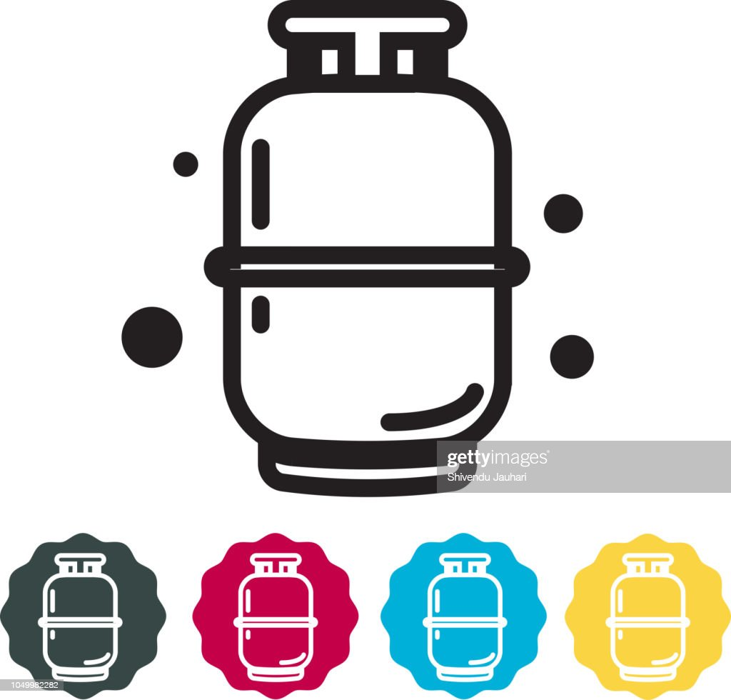 Cooking Gas Cylinder Icon