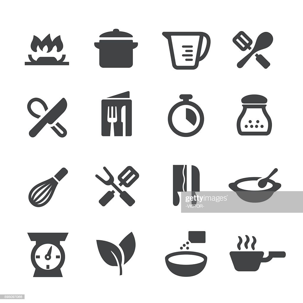 Cooking Icons - Acme Series : stock illustration