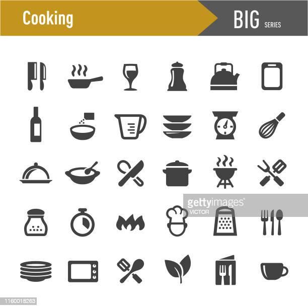 クッキングアイコン - ビッグシリーズ - 皿点のイラスト素材/クリップアート素材/マンガ素材/アイコン素材