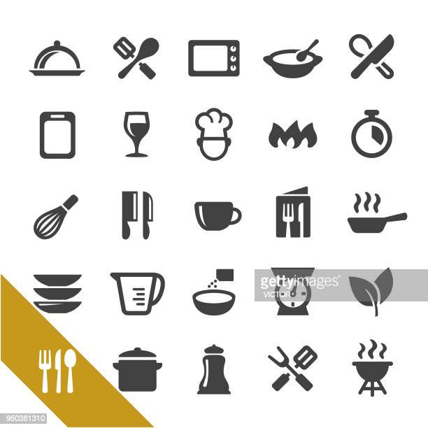 cooking icons - select series - kitchen scale stock illustrations, clip art, cartoons, & icons