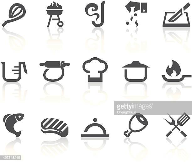 Cooking Icons | Simple Black Series