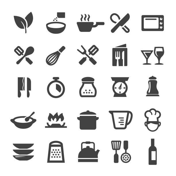 烹飪圖示-智慧系列 - 焗 預備食物 幅插畫檔、美工圖案、卡通及圖標