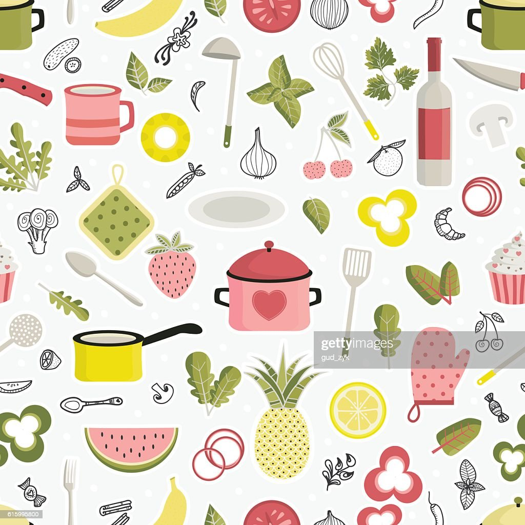 Cooking. Pattern