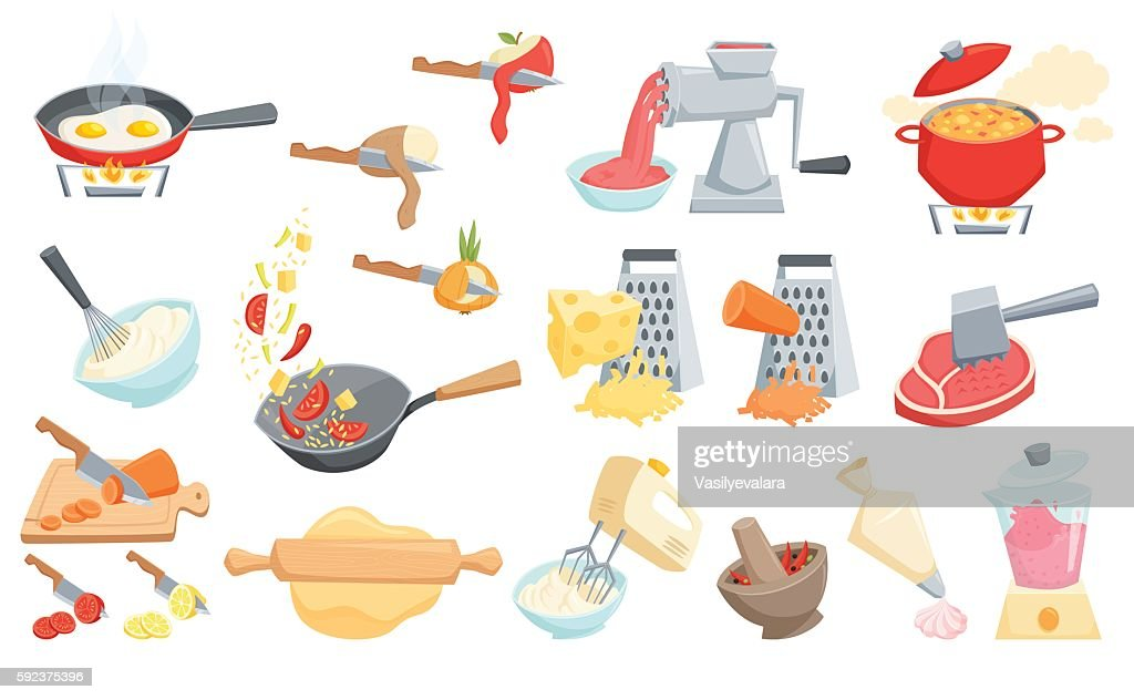 Cooking process set