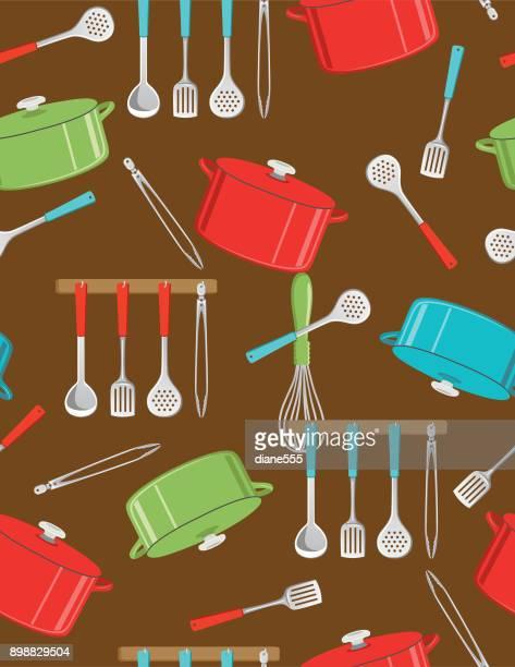 Cooking Seamless Pattern