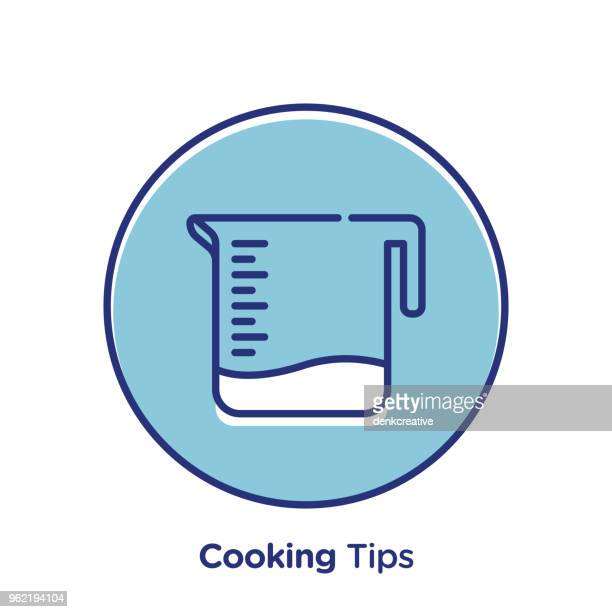 cooking tips - letrac stock illustrations