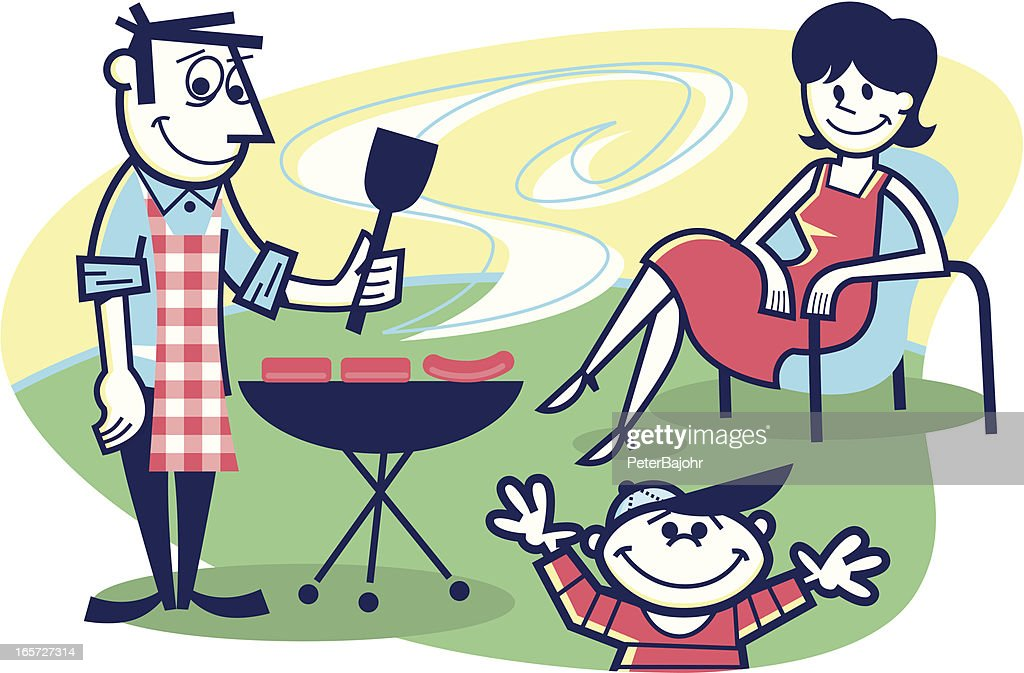 cookout! : stock illustration