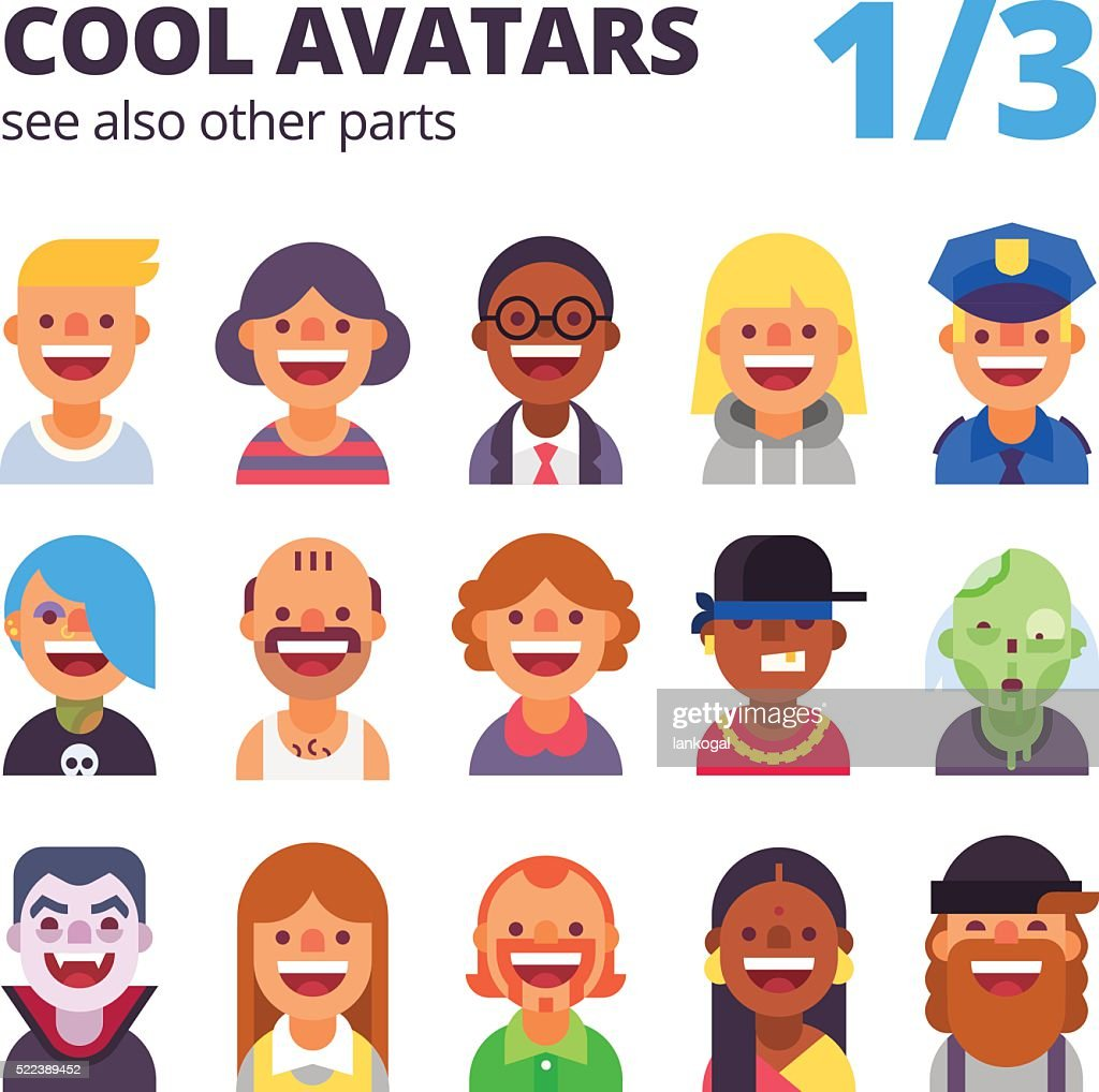 Cool avatars.  Part 1 of 3. See also other parts.