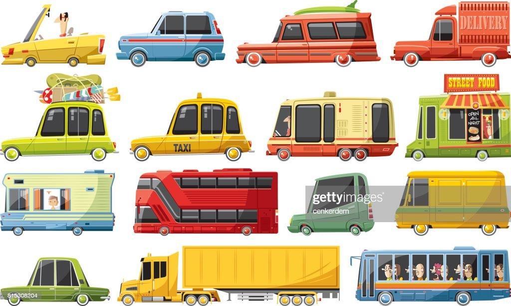 Cool car set