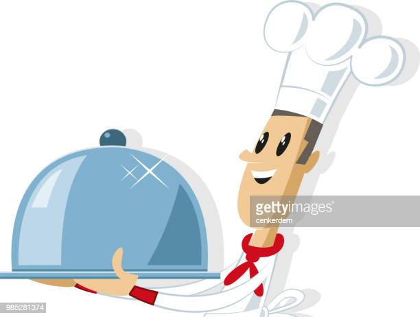 cool chef - kitchenware department stock illustrations, clip art, cartoons, & icons