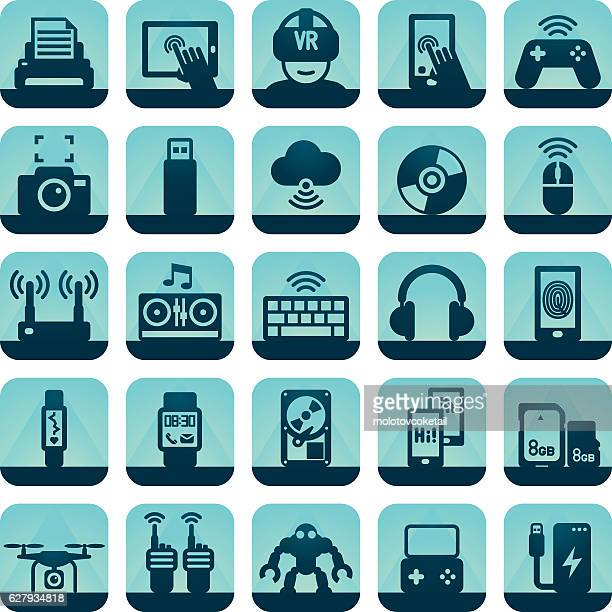 cool gadget icons