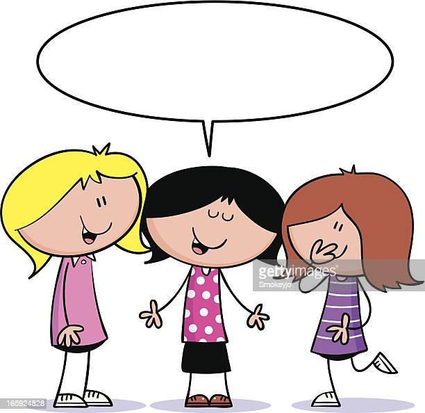 Cool girls talking