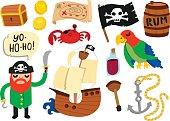 Cool Pirate Set