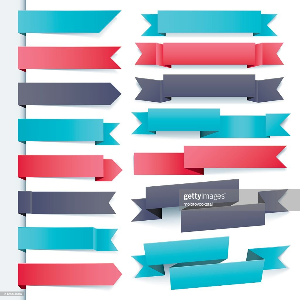 cool ribbon set