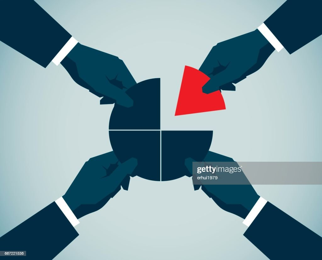 Cooperation : stock vector
